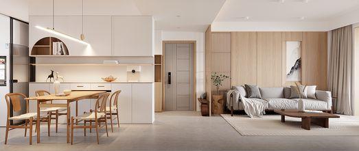 富裕型130平米三室两厅日式风格餐厅设计图