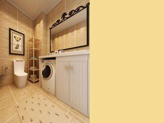 10-15万130平米三室两厅田园风格卫生间装修案例