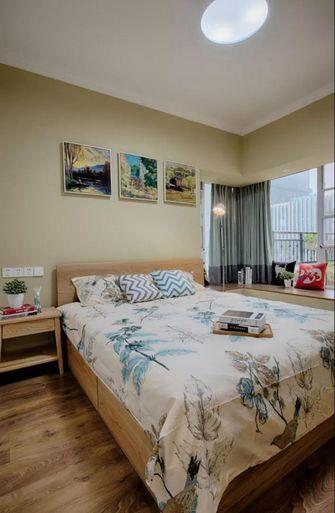 90平米三北欧风格卧室设计图