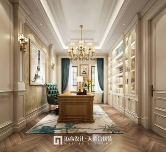 140平米别墅美式风格书房图片