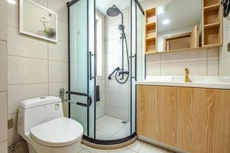 富裕型日式风格卫生间效果图