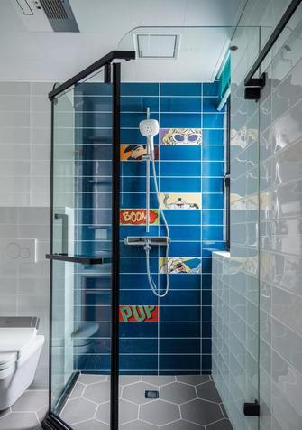 110平米三室两厅混搭风格卫生间效果图