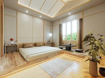 豪华型140平米别墅日式风格卧室设计图
