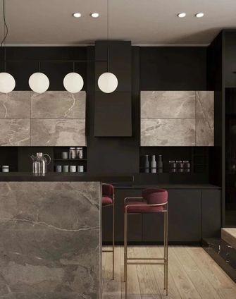140平米复式工业风风格厨房装修案例