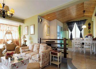 90平米公寓田园风格客厅装修图片大全