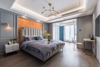 豪华型140平米三室两厅美式风格卧室图