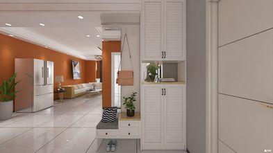80平米三室一厅轻奢风格玄关图