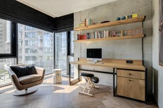 豪华型140平米轻奢风格阳台装修案例