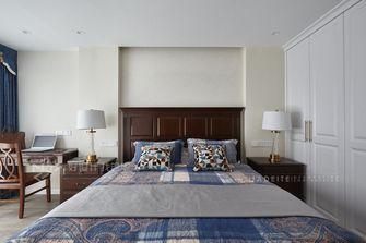140平米三室三厅美式风格卧室欣赏图