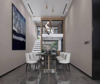 富裕型140平米四现代简约风格餐厅装修图片大全
