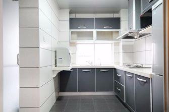 80平米三混搭风格厨房欣赏图