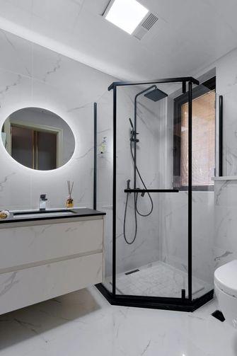 20万以上110平米三室三厅北欧风格卫生间装修图片大全