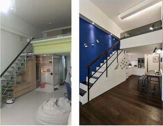 20万以上110平米复式现代简约风格楼梯间效果图