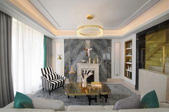 20万以上140平米四室两厅轻奢风格客厅装修图片大全