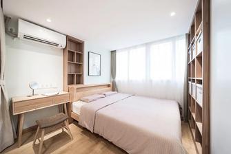 15-20万80平米三室一厅北欧风格卧室装修案例