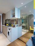 经济型50平米公寓北欧风格走廊装修效果图