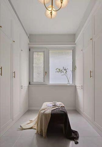 130平米三室两厅美式风格衣帽间图