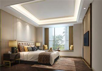 100平米三室两厅公装风格卧室装修案例