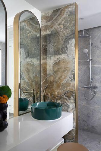 豪华型100平米三欧式风格卫生间设计图