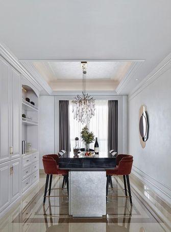5-10万90平米三室两厅法式风格餐厅图片