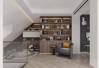 豪华型140平米三室两厅现代简约风格阁楼装修案例