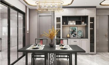 20万以上130平米四中式风格餐厅图