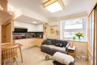 40平米小户型日式风格客厅装修效果图