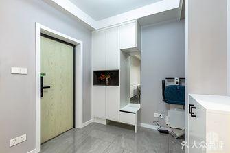 10-15万110平米三室一厅现代简约风格玄关装修图片大全