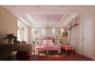 豪华型140平米别墅新古典风格青少年房图片