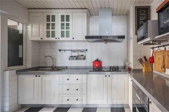 富裕型100平米三室两厅北欧风格厨房欣赏图