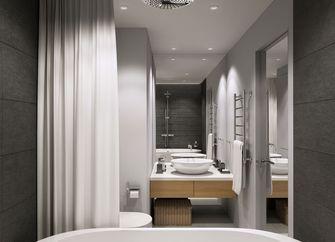 经济型60平米公寓北欧风格卫生间装修效果图
