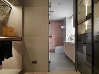 富裕型100平米三室两厅日式风格卫生间设计图