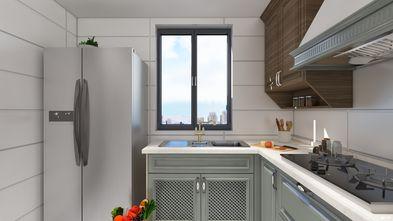 3-5万50平米公寓轻奢风格厨房欣赏图