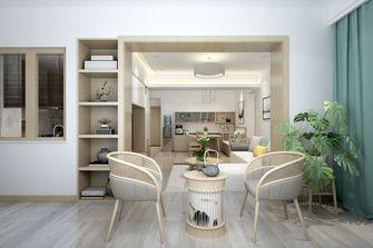 100平米三室一厅日式风格餐厅设计图