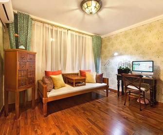 富裕型120平米三室两厅东南亚风格书房装修效果图