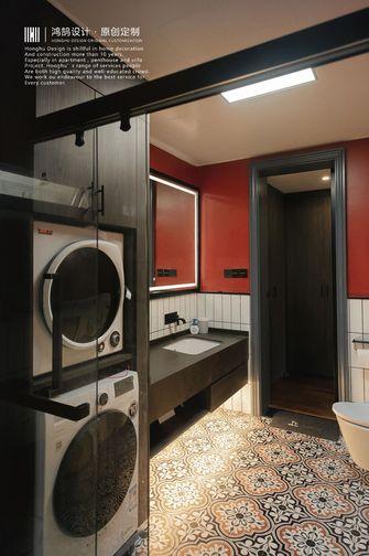20万以上140平米一室两厅混搭风格卫生间图