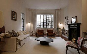 富裕型100平米三室两厅新古典风格客厅装修图片大全