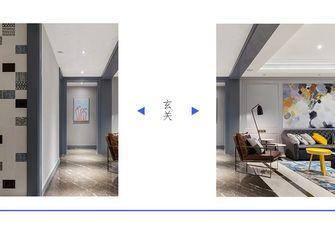 豪华型100平米三室一厅现代简约风格玄关装修案例