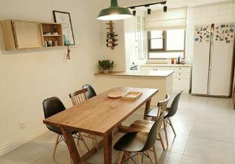 经济型100平米三室一厅欧式风格餐厅装修图片大全