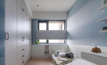 富裕型110平米三室两厅现代简约风格青少年房装修案例