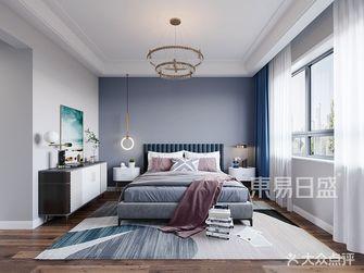 140平米复式现代简约风格卧室装修效果图