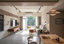 经济型90平米现代简约风格客厅设计图