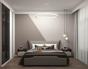 富裕型140平米四室一厅轻奢风格卧室欣赏图