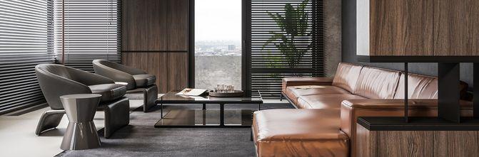 70平米一居室法式风格客厅效果图