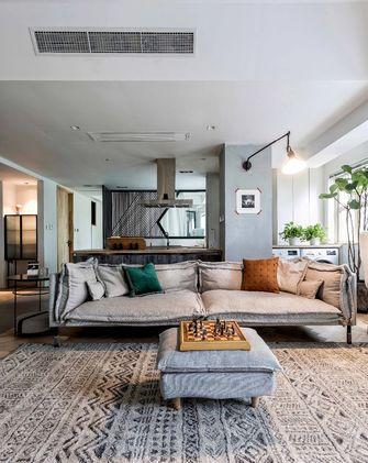 10-15万80平米一室两厅现代简约风格客厅图