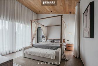 20万以上140平米别墅田园风格卧室设计图