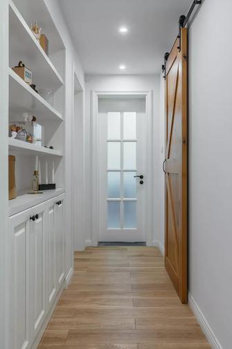 富裕型80平米北欧风格走廊装修案例