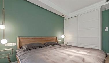 10-15万80平米北欧风格卧室设计图