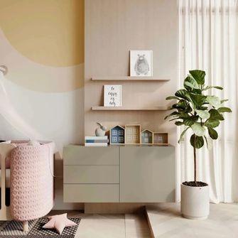 富裕型110平米三室一厅地中海风格青少年房装修图片大全