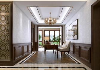 富裕型140平米美式风格书房装修效果图